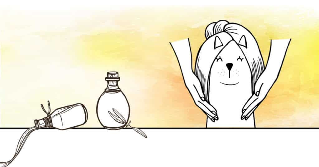 recette huile massage chien arthrose