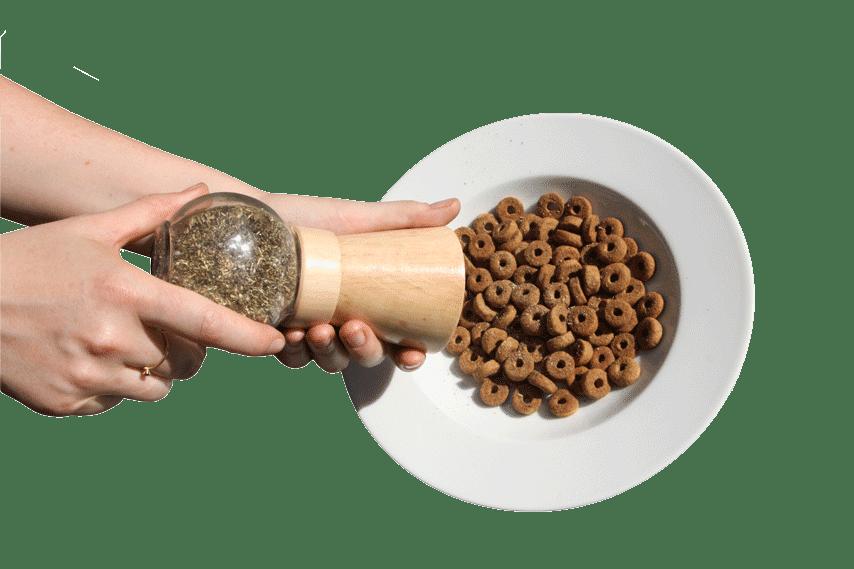 chien gamelle complément alimentaire